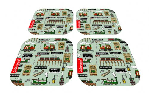 Selina-Jayne Steam Trains Limited Edition Designer Coaster Gift Set